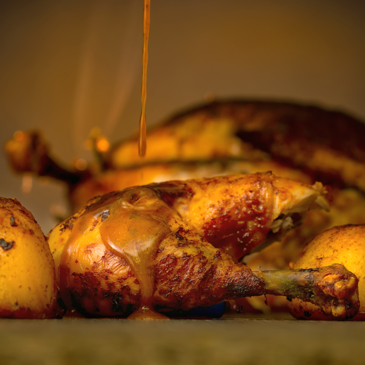 Nuttily Perfect Roast Chicken