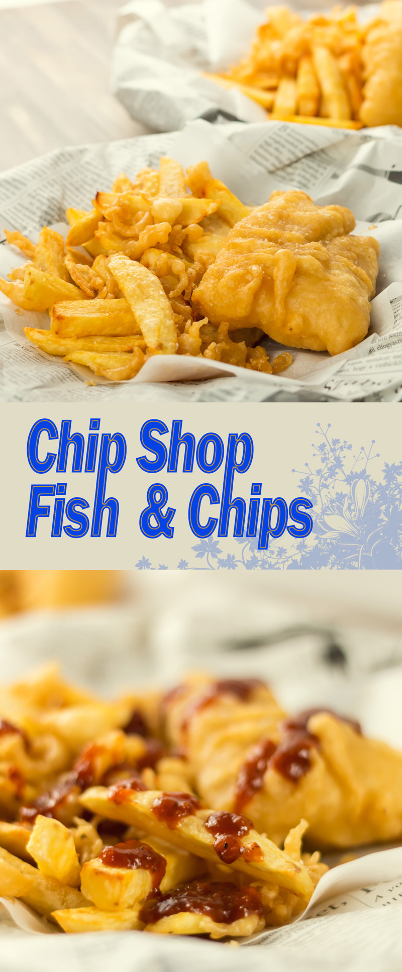 Freshwater fish and chip shop - Chip Shop Fish Chips