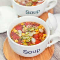 Mexican Tomato and Corn Soup