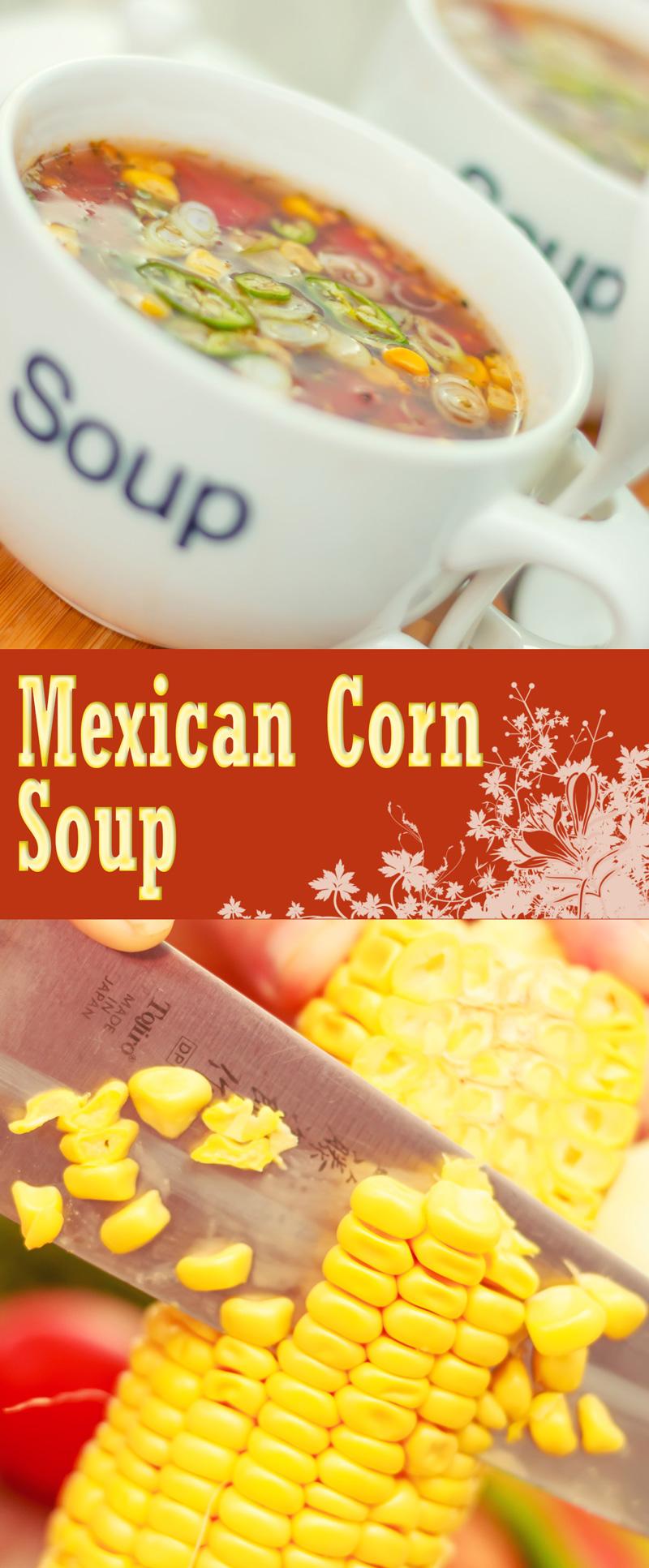 Mexican Tomato and Corn Soup | Krumpli