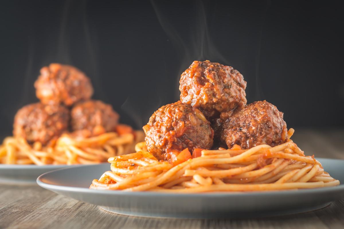 Spaghetti and Meatballs | Krumpli