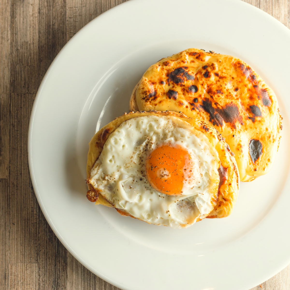 Welsh Rarebit With Guinness And A Fried Egg Recipes — Dishmaps
