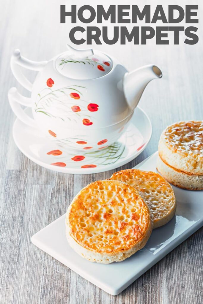 These Homemade crumpets are hand crafted with love and are a wonderful breakfast, brunch or supper treat and the finest way to increase your butter intake! So ditch the store bought ones and get these made!