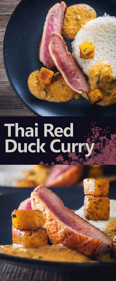 Thai Red Duck Curry with Pineapple