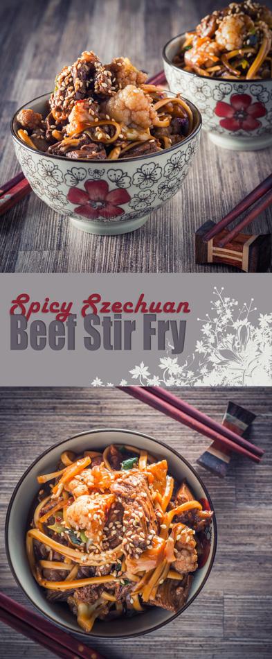 Spicy Szechuan Beef Stir Fry
