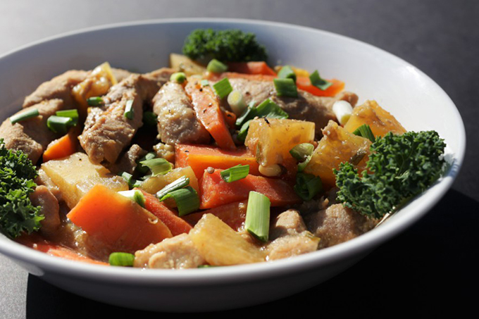 Slow Cooked Food Rocks: Crockpot Asian Pineapple pork