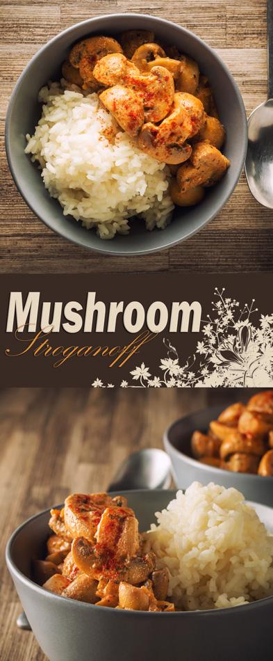 Mushroom Stroganoff, In a Hurry!