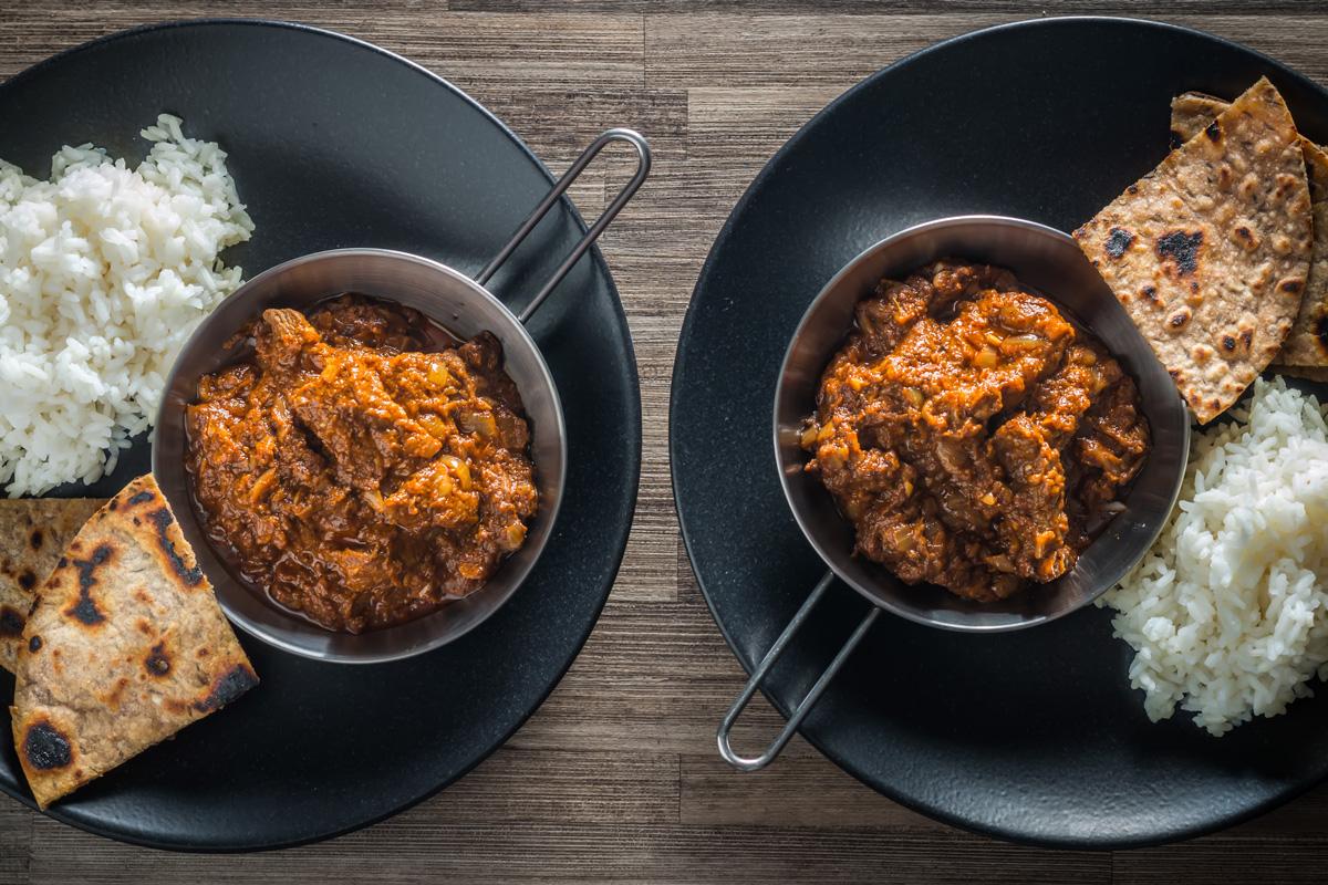 Lamb Madras Curry Fakeaway Krumpli