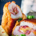 Chicken Cordon Bleu is a retro classic and whilst it may have fallen out of favour in fancy restaurants it is such a simple easy family favourite! Ready in 30 minutes this recipes takes no time at all and is really impressive. #classicrecipes #retrorecipes