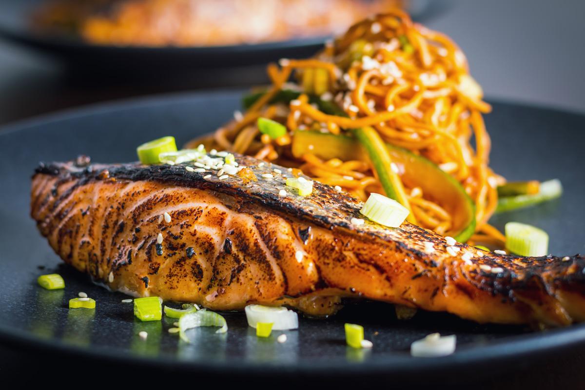 Quick Korean Salmon