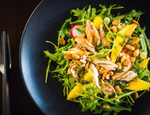 Smoked Mackerel Salad with Mango