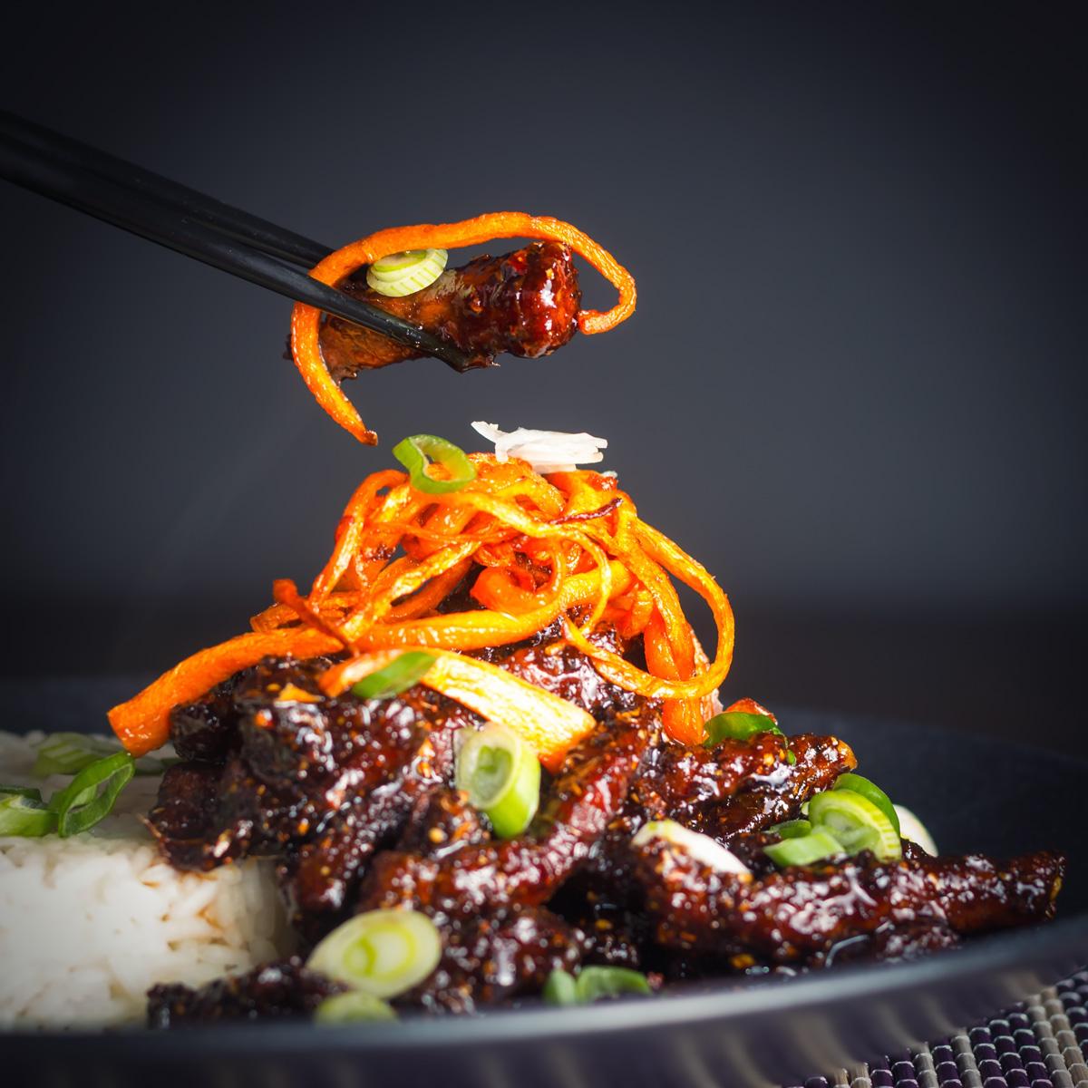 Sticky Chili Beef