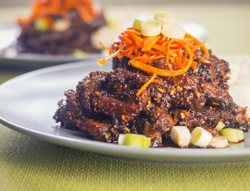 Chinese Style Sticky Chili Beef