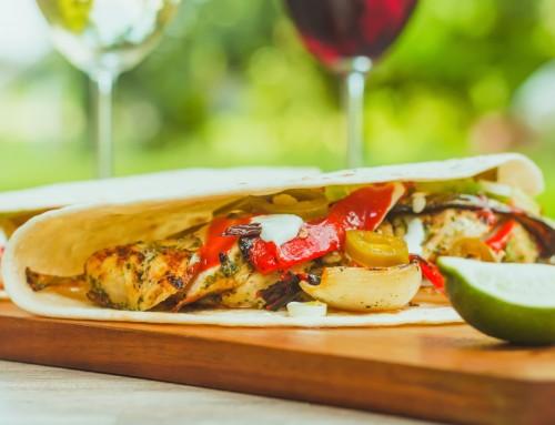 Grilled Cilantro Chicken Fajitas