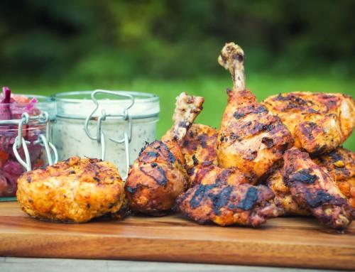 Spicy BBQ Tandoori Chicken