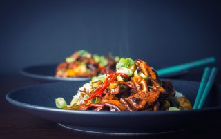 This Stir Fry Beef with Shiitake Mushroom is so quick and simple to make and a real treat, who needs to wait for the delivery this is quicker, cheaper and tastes glorious!