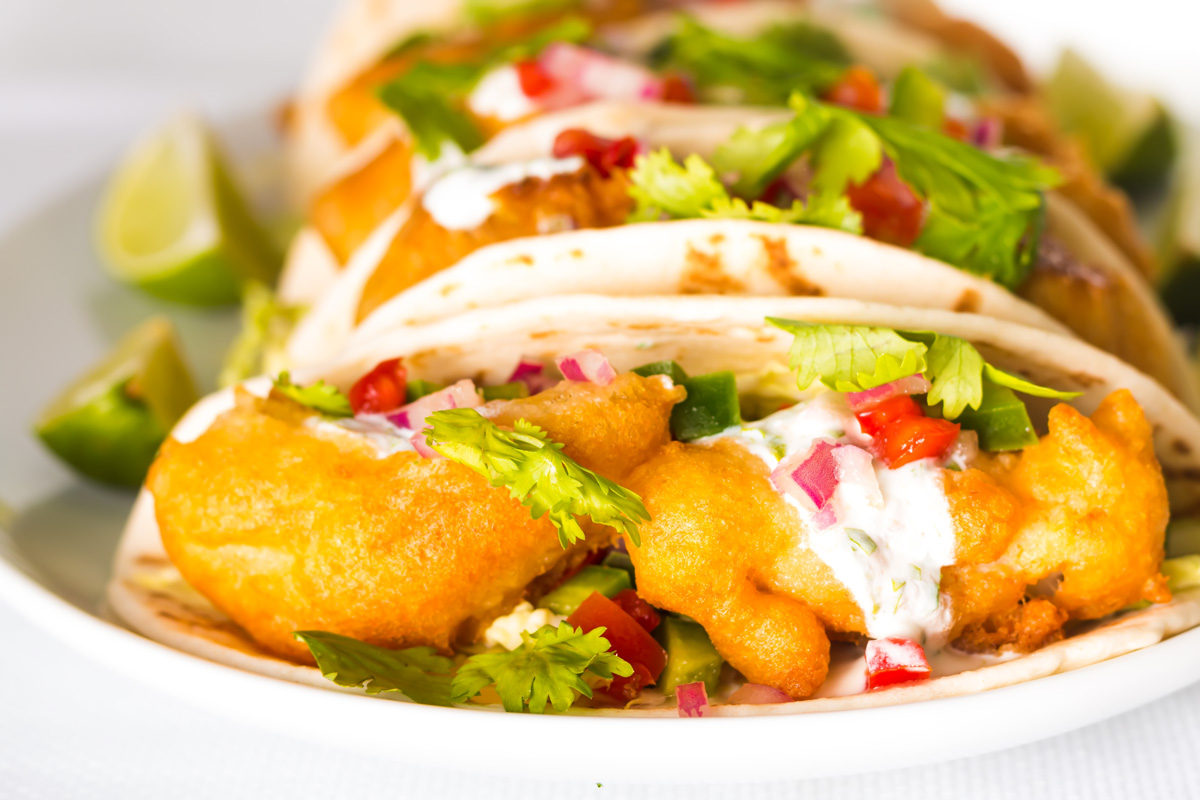 Beer battered fish tacos krumpli for Beer battered fish tacos recipe