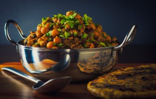 When it comes to frugality a chole or chickpea curry is right up there, a simple cheap meal that packs flavours well above its 'pay grade'!