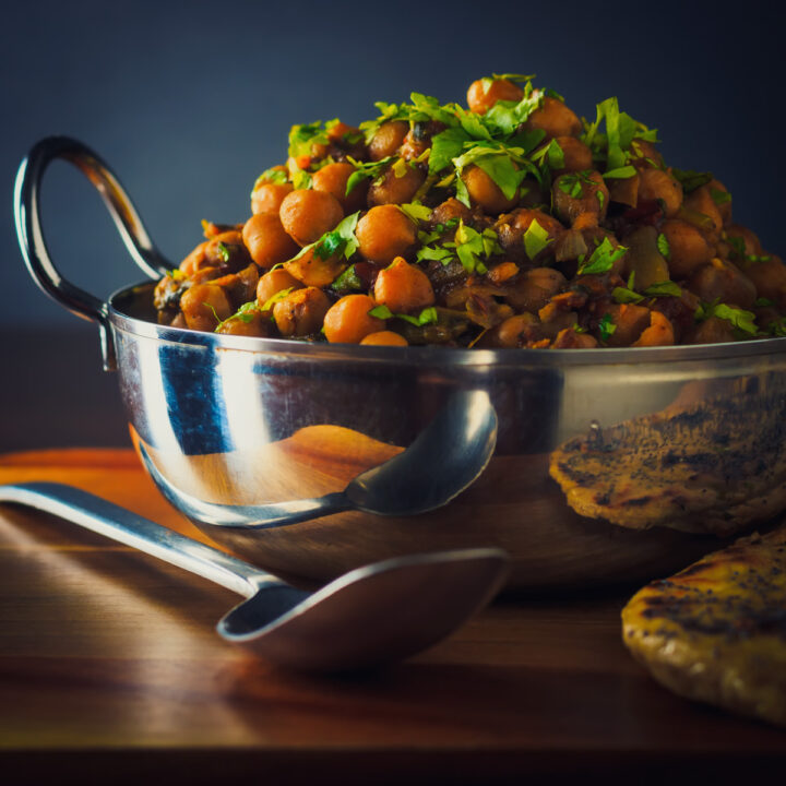 Chole: Indian Chickpea Curry