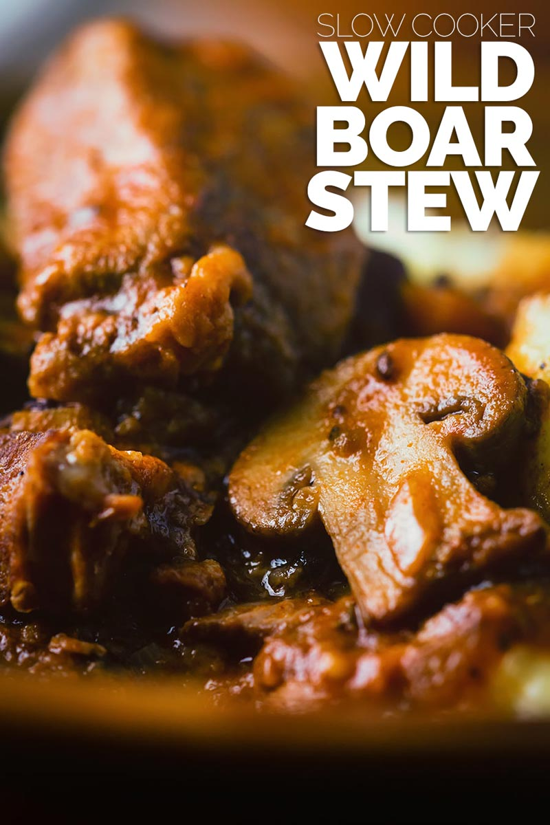 Wild boar is a fantastically underused meat that makes the most wonderful autumn or winter meal, this wild boar stew really showcases its flavour! #wildboarrecipes #comfortfood