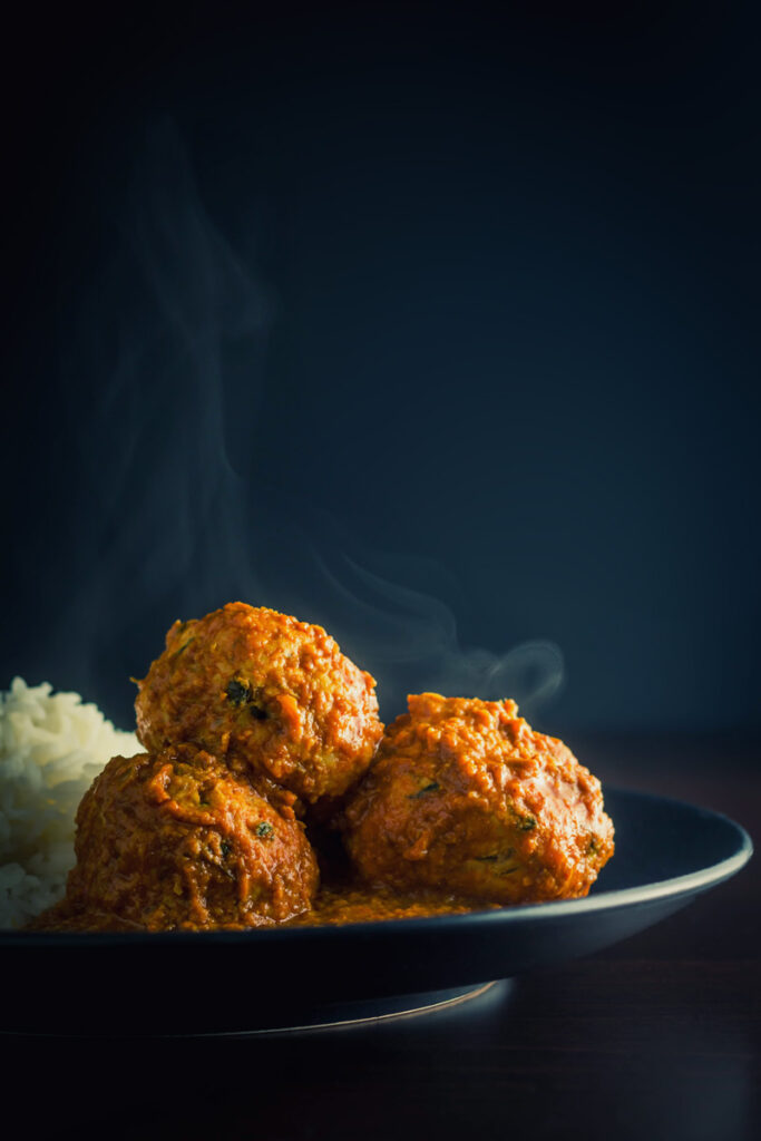 Chicken Kofta Masala