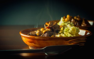 Venison Stew With Champ