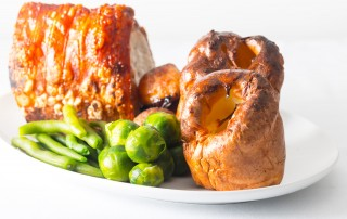 Towering Foolproof Yorkshire Pudding