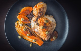 Braised Chicken with Chicory