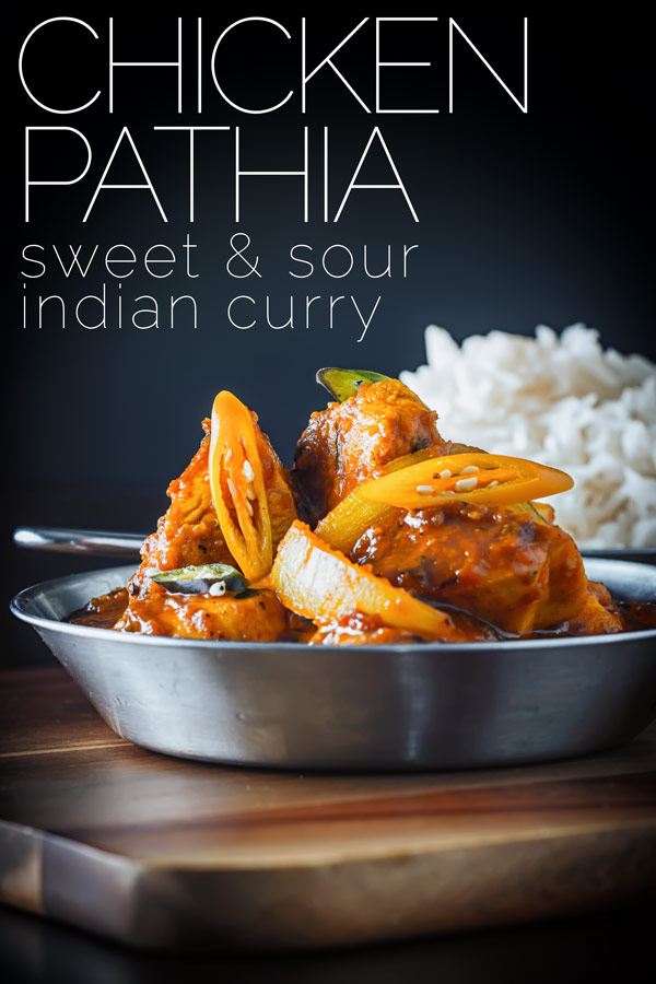 The usual habitat for a chicken pathia seems to be a British curry house, I think this fiery sweet and sour number with Gujarati leanings should be shown a lot more love. Tamarind adds the sour to this amazing curry dish. #pathiacurry #chickencurry