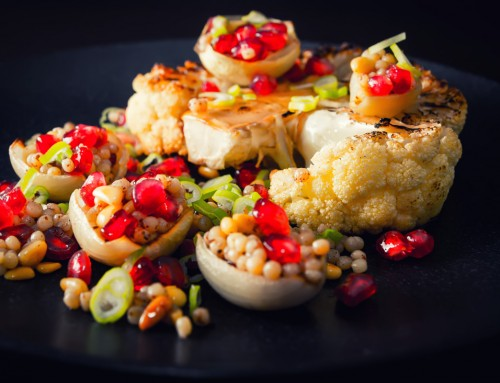 Persian Roasted Cauliflower Steak