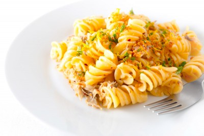 Smoked Mackerel Fusilli With Chili
