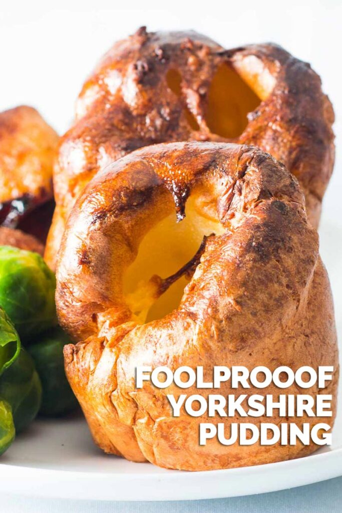 A Yorkshire pudding is a thing of great beauty and a stalwart of and British Roast Dinner, forget the frozen ones go big on this foolproof recipe. #yorkshirepudding #sidedish #traditionalbritishfood #britishrecipes #easyyorkshirepudding #englishrecipe