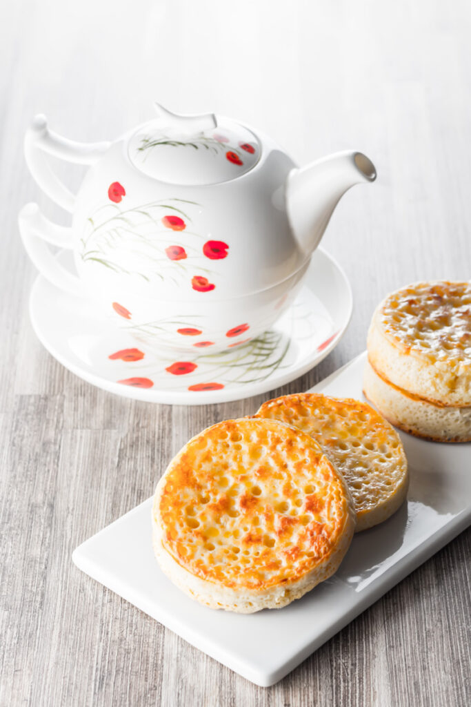 Homemade crumpets are a wonderful breakfast, brunch or supper treat and the finest way to increase your butter intake