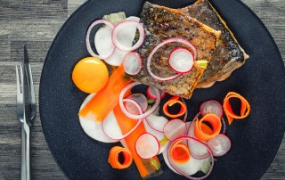 Zander or pike perch is this star of this fancy looking but deceptively simple dish ready in 30 minutes that rocks the start of spring and a lighter way of eating.
