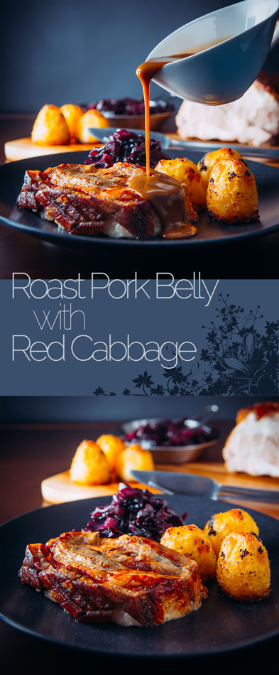 There is nothing as fine as piece of slow cooked roast pork belly with a crispy crackling, so I guess this recipe goes down as real damn fine!