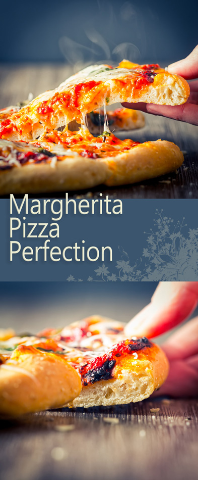 The Margherita Pizza, perfection that all other Pizzas come from and all others are measured against and possible without commercial kit!