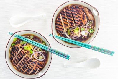 Ramen may have a bit of a bad rep but it need not be a throw away meal, this Spicy BBQ Pork Ramen is packed full of great fresh flavours and textures!