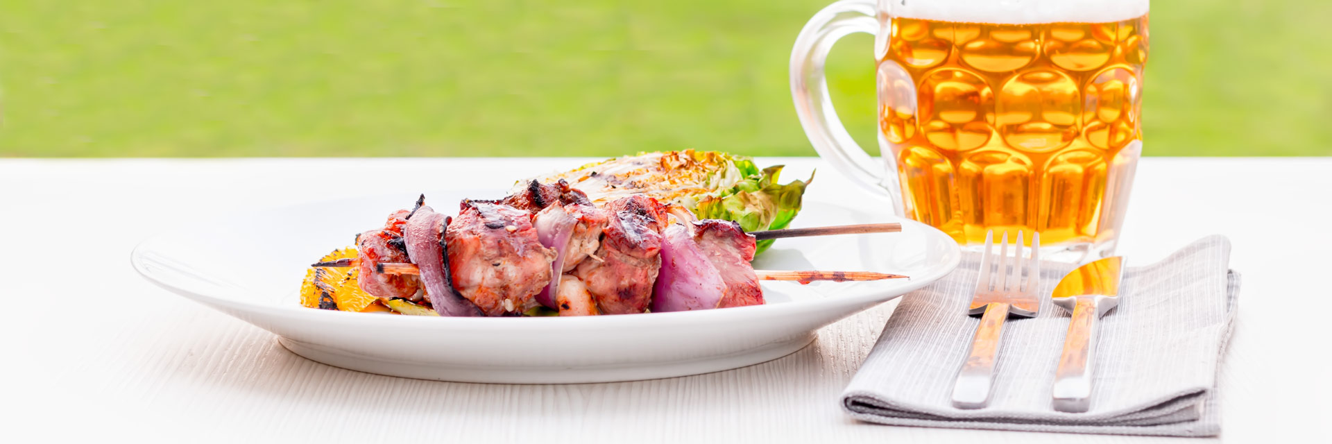 Classic flavours dominate this BBQ Duck Kebab recipe but raises the BBQ bar and adds a little luxury to your grilling experience!