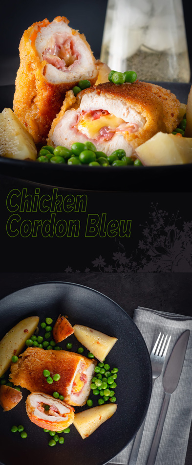 Chicken Cordon Bleu is a retro classic and whilst it may have fallen out of favour in fancy restaurants it is such a simple easy family favourite!
