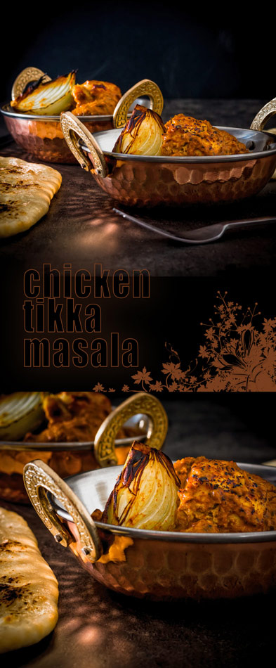 Chicken Tikka Masala really is the Grand Daddy of Anglo Indian Curries, grilled marinaded chicken in a spicy fragrant tomato based sauce.