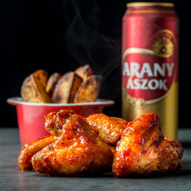 Hot wings are the ultimate finger licking joy for me, smaller than drummers so I get more sauce and cooked slow in the oven leaves them moist