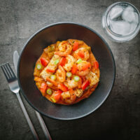 This Creole shrimp recipe is a delicious meal wrapping up the flavours of paprika, cayenne and garlic with shrimp, tomato, green pepper and celery.