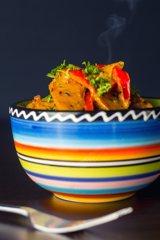 This fingerling potato curry is far from being an 'authentic' dish, what ever that is, but it is tasty and celebrates 2 of my favourite mid summer ingredients.