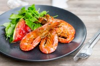 With ingredients this good it is best to keep things simple so a little Lemon Chili and Garlic make these Grilled Shrimp sing!