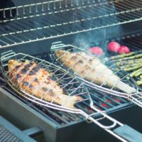 Grilled Trout: Tarragon and Lemon