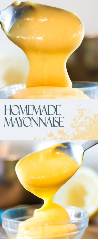 Making Homemade Mayonnaise is not a complicated task and it is infinitely better than the pasty white shop bought stuff that should apologise to real mayo!