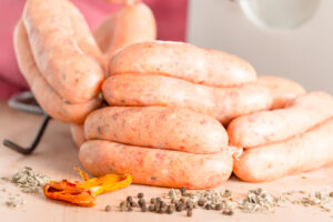 Making sausages guarantees that you only get the very best meat and flavours you want, why settle for anything less?