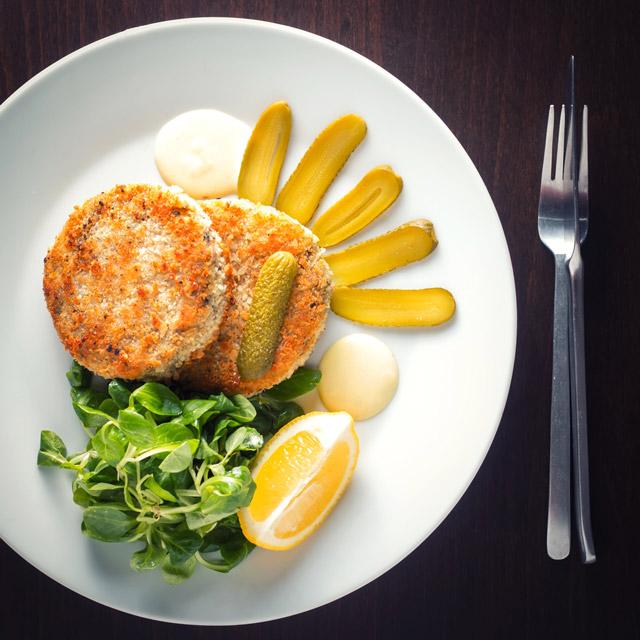 Homemade Tinned Tuna And Mackerel Fish Cakes