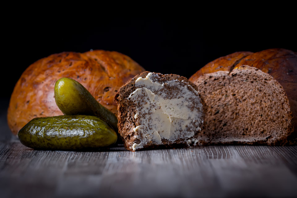 Pickled Cucumber Bread sounds crazy but the presence of the juice from pickled cucumbers is pure genius in this recipe for an unusual but tasty hearty loaf!