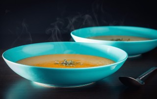 Forget overly sweet and rank average Butternut Squash soup, this roasted affair is lively with the taste of fennel and sage!